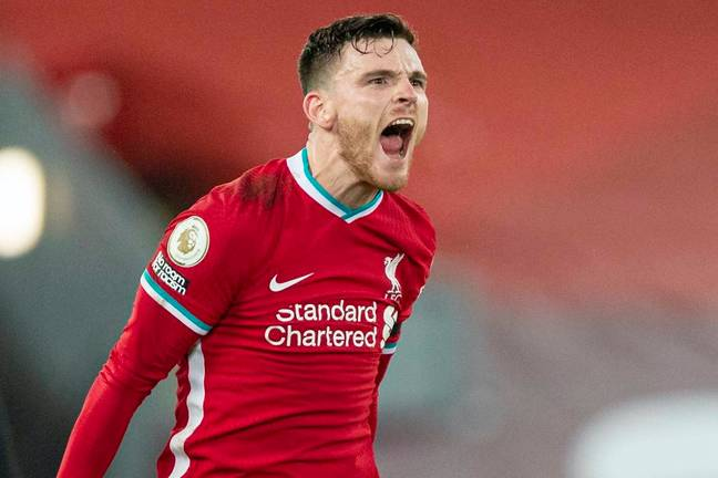 Andy Robertson has assisted a staggering 37 time in four seasons for Liverpool (Image: PA)