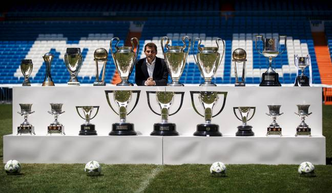 Iker Casillas is best remembered for his glittering 16-year senior career with Real Madrid