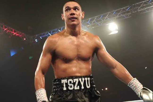 Tim Tszyu dominated the fight. Credit: Fox Sports
