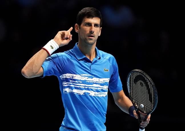 Djokovic is the world's number one and is the fourth competitor to test positive from coronavirus following the Adria Tour. (Image Credit: PA)