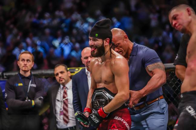 Masvidal beat Nate Diaz last year to become BMF champion. Image: PA Images