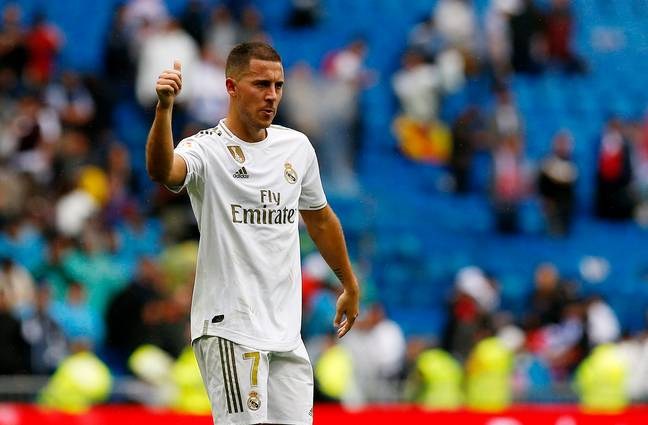 Hazard hasn't done enough to justify his wages at the Bernabeu yet. Image: PA Images