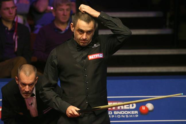 Very much sums up O'Sullivan's day. Image: PA Images