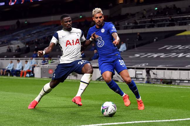 Palmieri has only played in the Carabao Cup this season. Image: PA Images