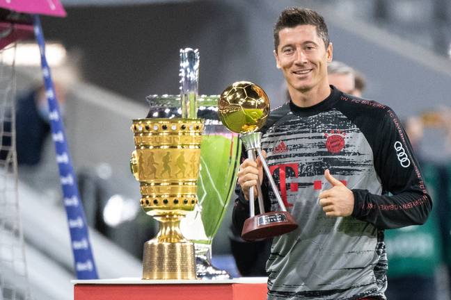 Lewandowski's picked up lots of silverware this year. Image: PA Images