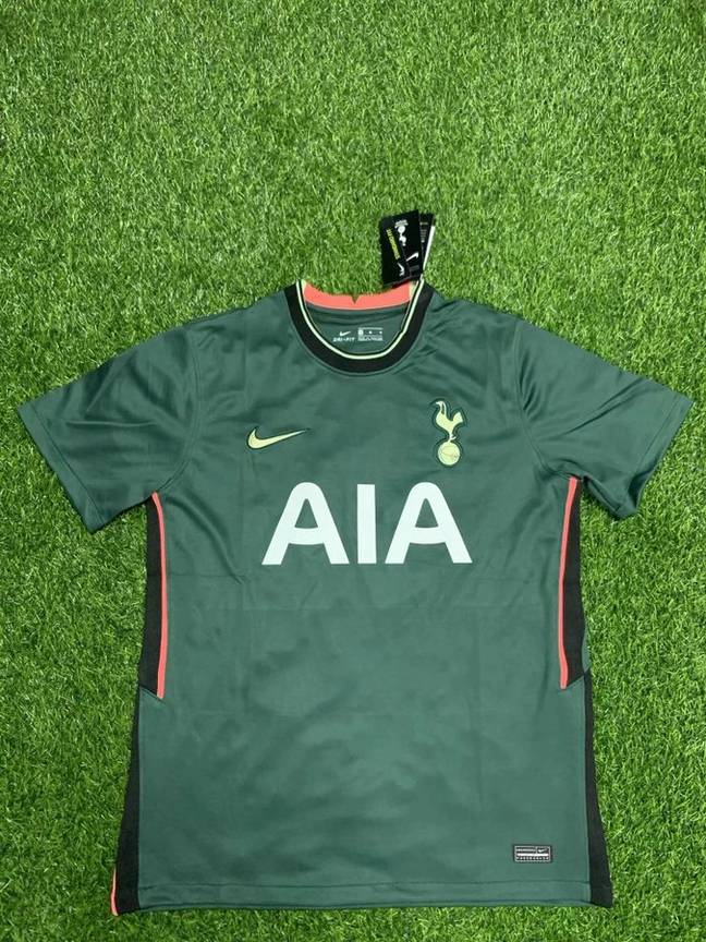 Next season's home kit (above) and away shirt (below). Images: Twitter/@TalkingTHFC