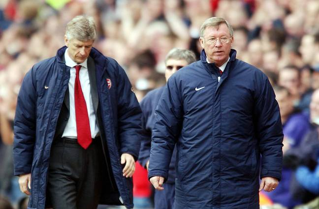 Wenger and Fergie didn't always get on. Image: PA Images