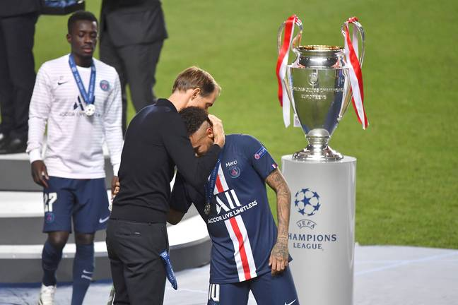 Neymar was left gutted by the Champions League final defeat. Image: PA Images