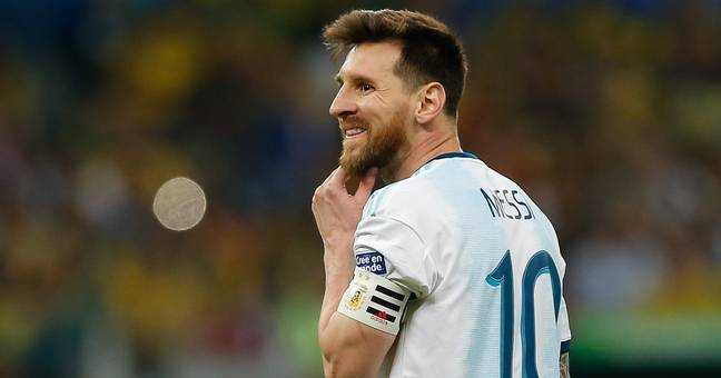Lionel Messi is currently playing with Argentina at the Copa America