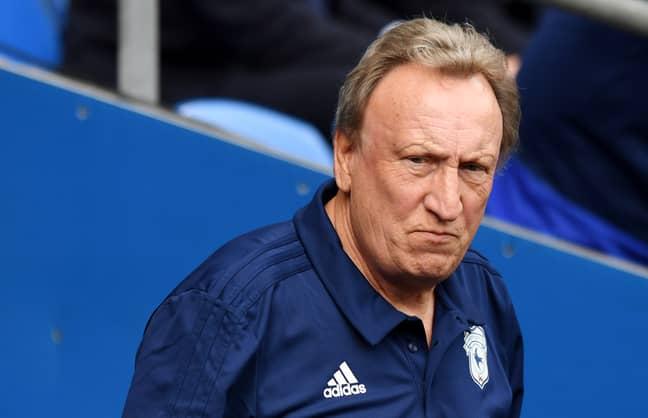 Cardiff Boss Neil Warnock