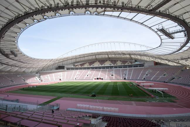 The Khalifa International Stadium. Image: PA Images