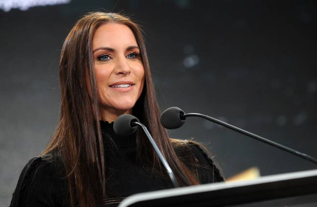 Stephanie McMahon at a corporate event in 2018. (Image Credit: PA)