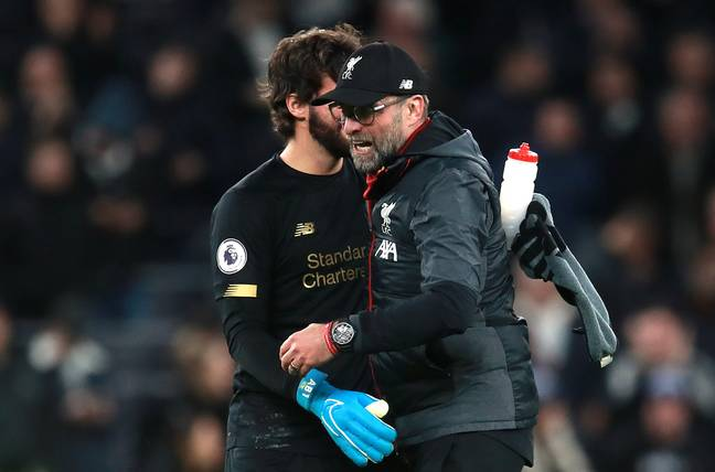 Jurgen Klopp's Liverpool team are on an incredible run that's seen them move 16 points clear at the top
