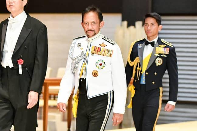 Faiq's uncle is the Sultan of Brunei. Image: PA Images