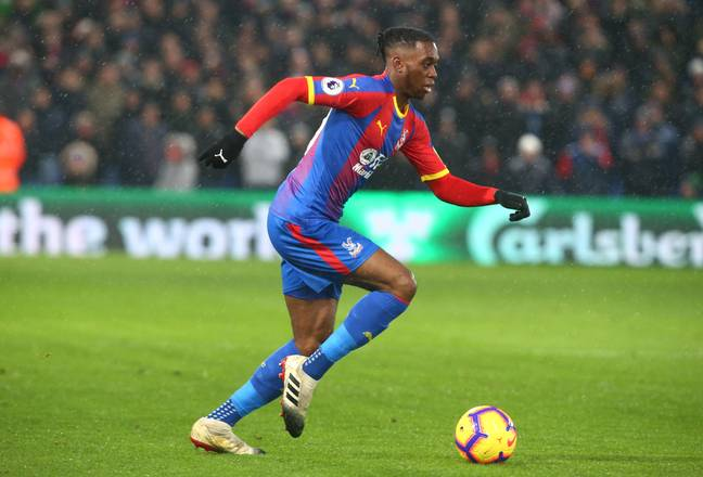 Wan-Bissaka has impressed for Palace this season. Image: PA Images