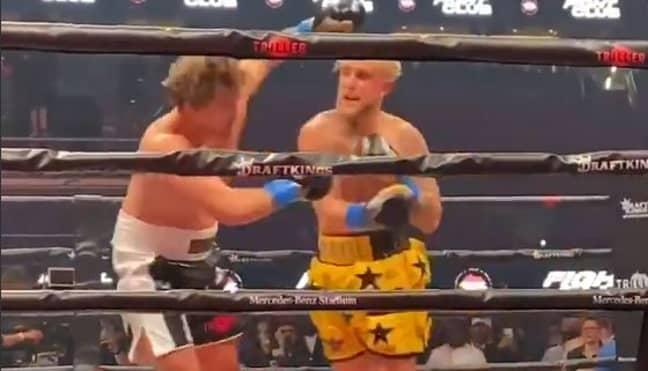 Jake Paul knocked Ben Askren out. Credit: ESPN