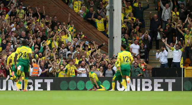 Kenny McLean headed in Norwich's first goal on Saturday night