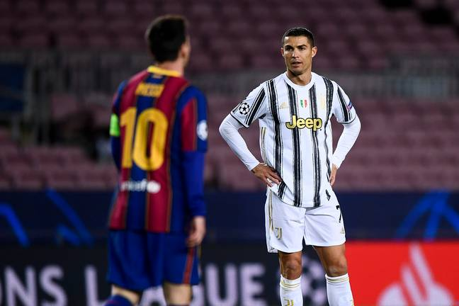 Ronaldo and Messi might soon be teammates. Image: PA Images