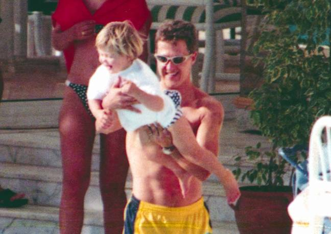 The film will feature 'never-before-seen' footage of Michael Schumacher and his family, according to reports. Credit: PA