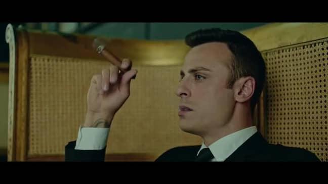 Berbatov in his acting debut. Image: Bulgarian Movies