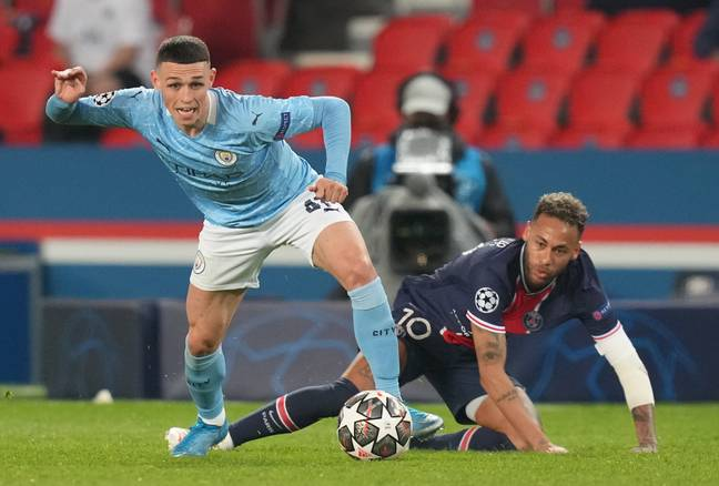 PSG have failed to win any of their previous games against City