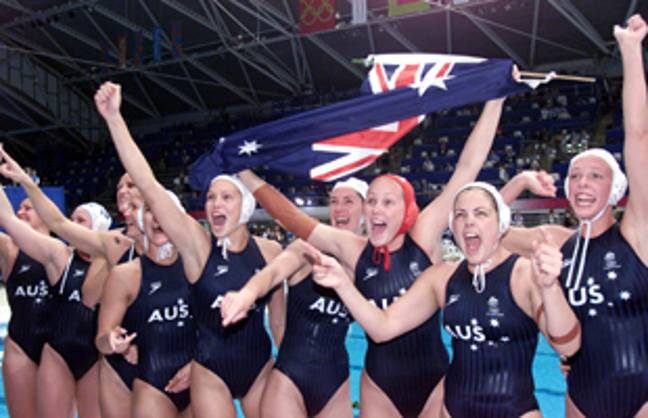 What a team. Credit: Australian Olympic Committee
