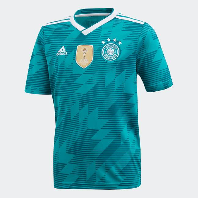 Germany's away kit. Image: PA Images
