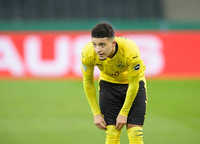 Sancho could move to PSG if Mbappe moves on. Image: PA Images