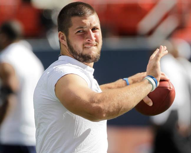 Tim Tebow never quite made it in the NFL despite his heroics in college football