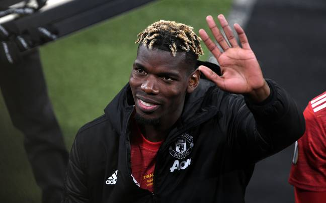 Could Pogba be about to wave goodbye to United. Image: PA Images