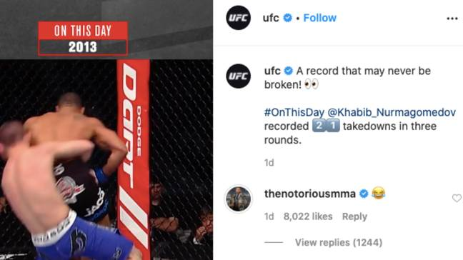 Image: Instagram/UFC