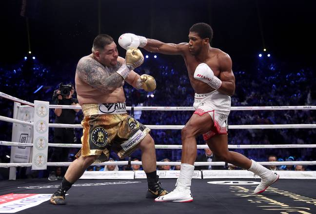 Andy Ruiz Jr was dominated by Anthony Joshua in their rematch in Saudi Arabia
