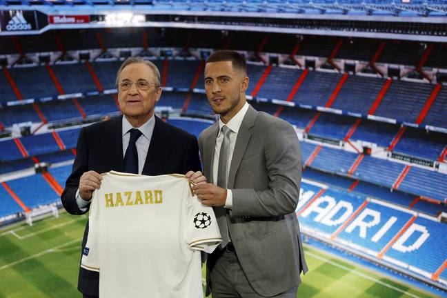 If you think the dude who spent £130 million on Eden Hazard can fix football's money problems I don't know what to tell you. Image: PA Images