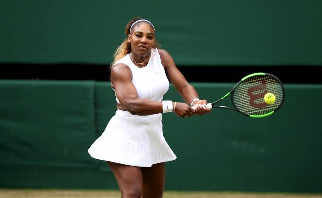 Serena Williams. Credit: PA