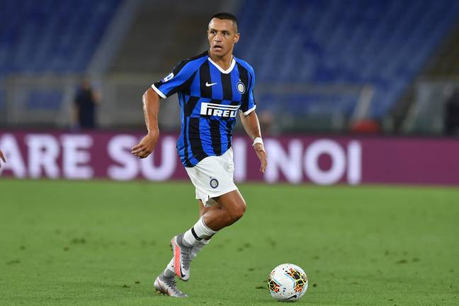 Sanchez has played for Inter this season. Image: PA Images