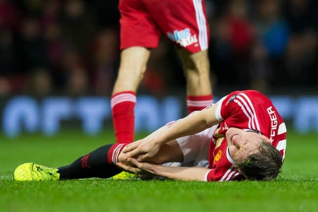Schweinsteiger injury