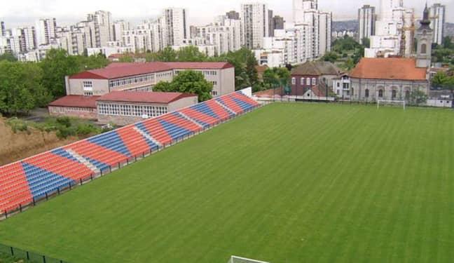 The home of FK Bežanija