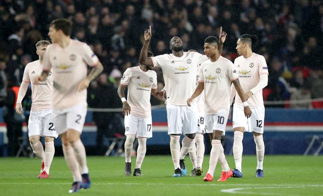 Lukaku did well for United. Image: PA Images