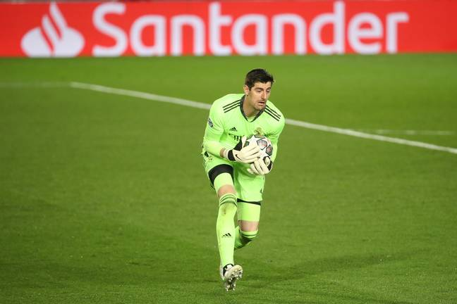 Courtois is only behind Jan Oblak as the most valuable goalkeeper. Image: PA Images