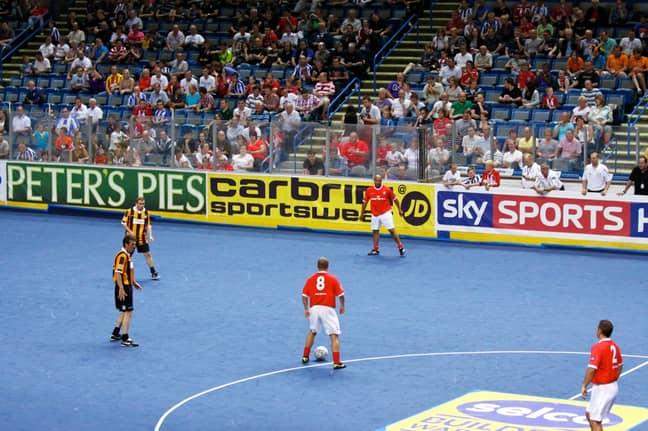 Image: Masters Football/Sky Sports