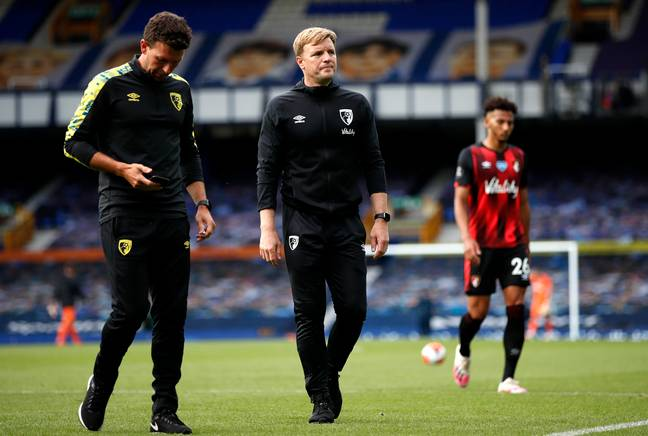 Howe was relegated with Bournemouth last season. Image: PA Images