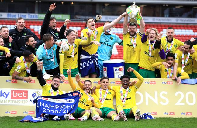 Can Norwich last longer than a year in the top tier this time? Image: PA Images