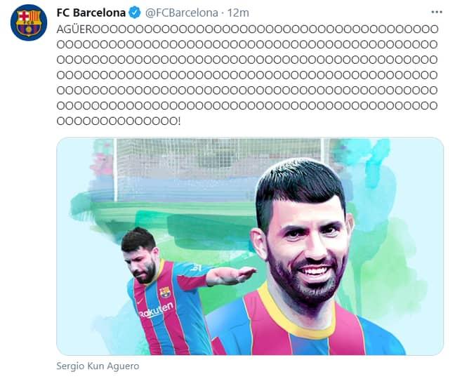 Image: Barcelona/Twitter