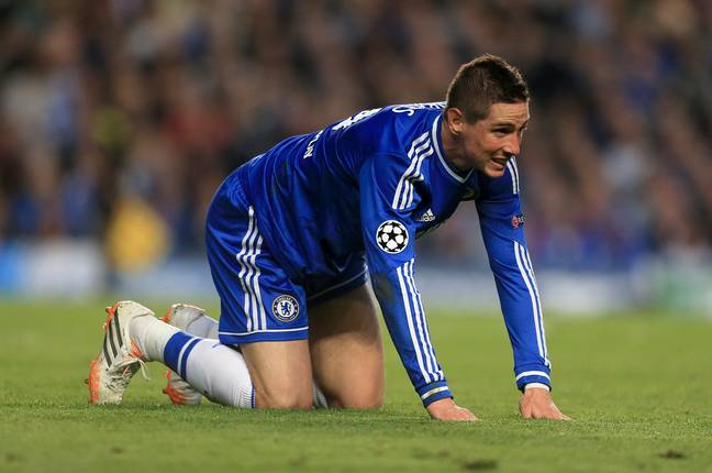 Torres's move to the Blues didn't work out at all. Image: PA Images