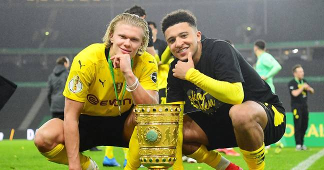 Erling Haaland and Jadon Sancho are two of Dortmund's most exiting young players