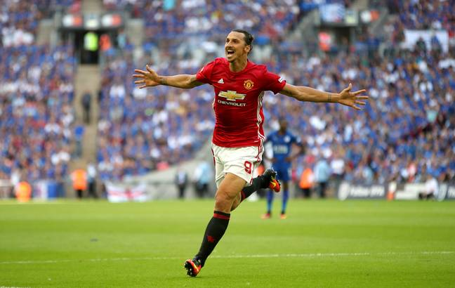 Ibra had a good time at United before injury hit. Image: PA Images