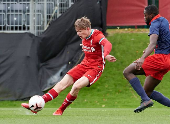 Liverpool are on the verge of losing one of their rising academy stars to a Premier League rival