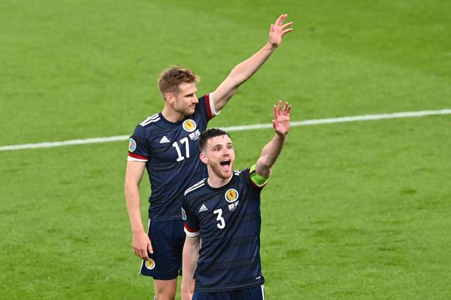 Scotland's chances of winning the tournament are still unsurprisingly slim despite the draw with England. Image: PA Images