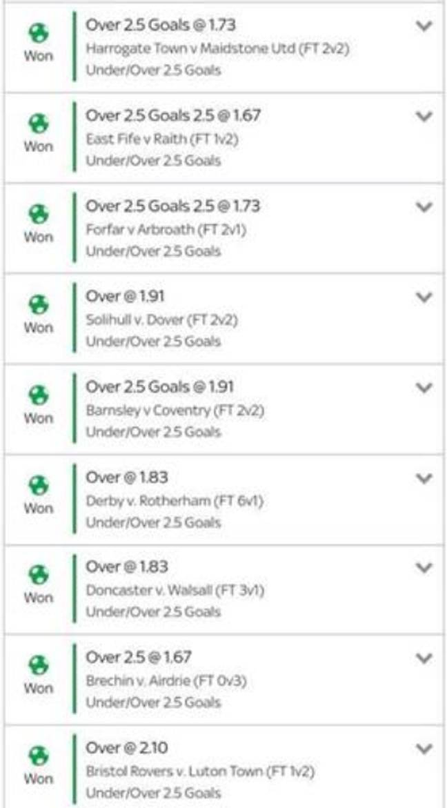 This must have hurt. Image: Footy Accumulators.