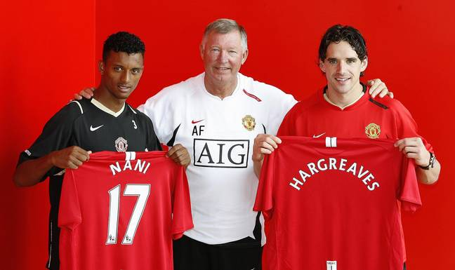 Hargreaves and Nani were essential to United's success. Image: PA Images